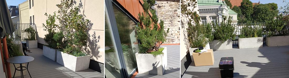 Terasa ant stogo, stogo terasa, terasos ant stogo, terasos irengimas ant stogo, stogo terasa irengimas